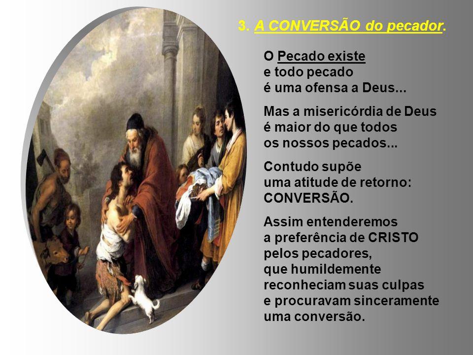 3. A CONVERSÃO do pecador. O Pecado existe e todo pecado