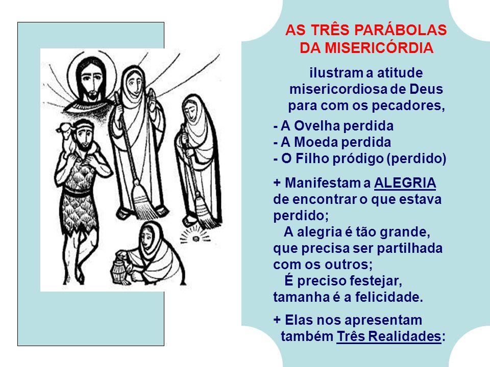 ilustram a atitude misericordiosa de Deus