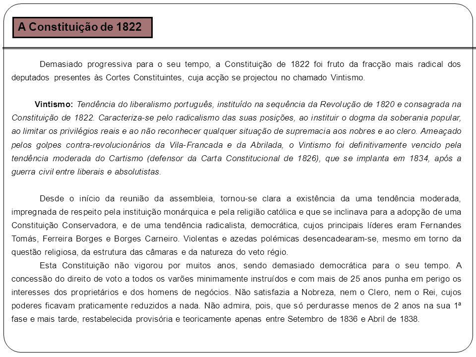 A Constituição de 1822