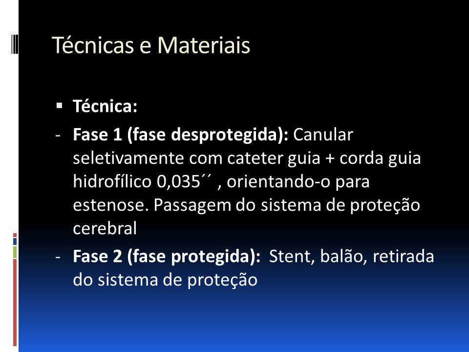 Técnicas e Materiais Técnica: