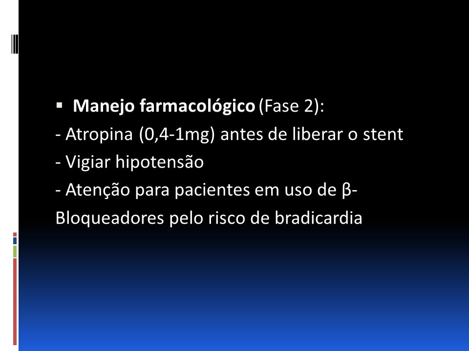 Manejo farmacológico (Fase 2):