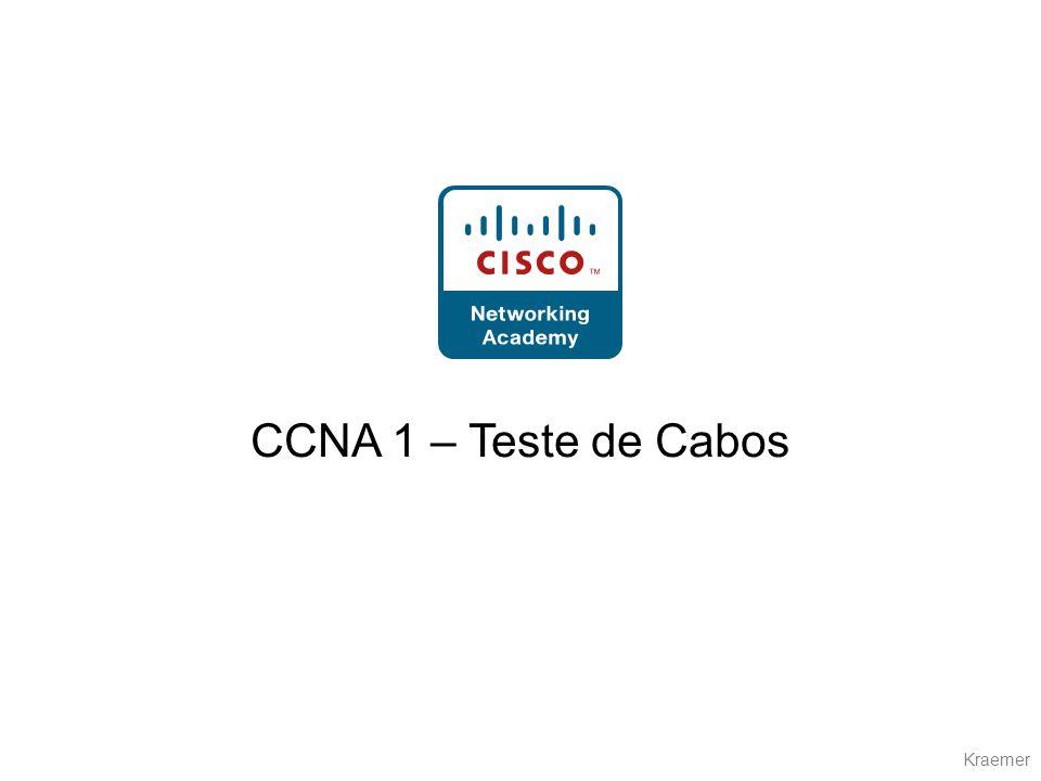 CCNA 1 – Teste de Cabos