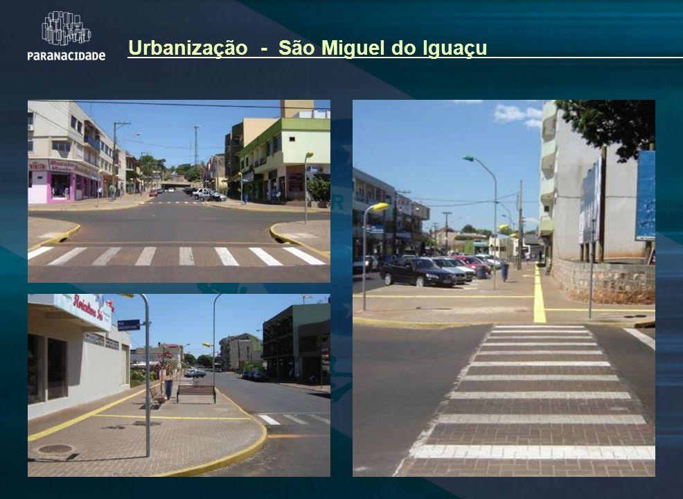 Urbanização - São Miguel do Iguaçu