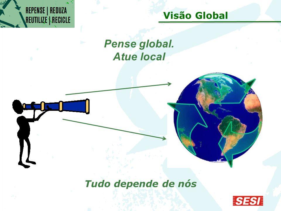 Pense global. Atue local