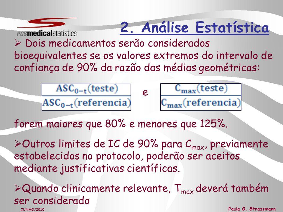 2. Análise Estatística