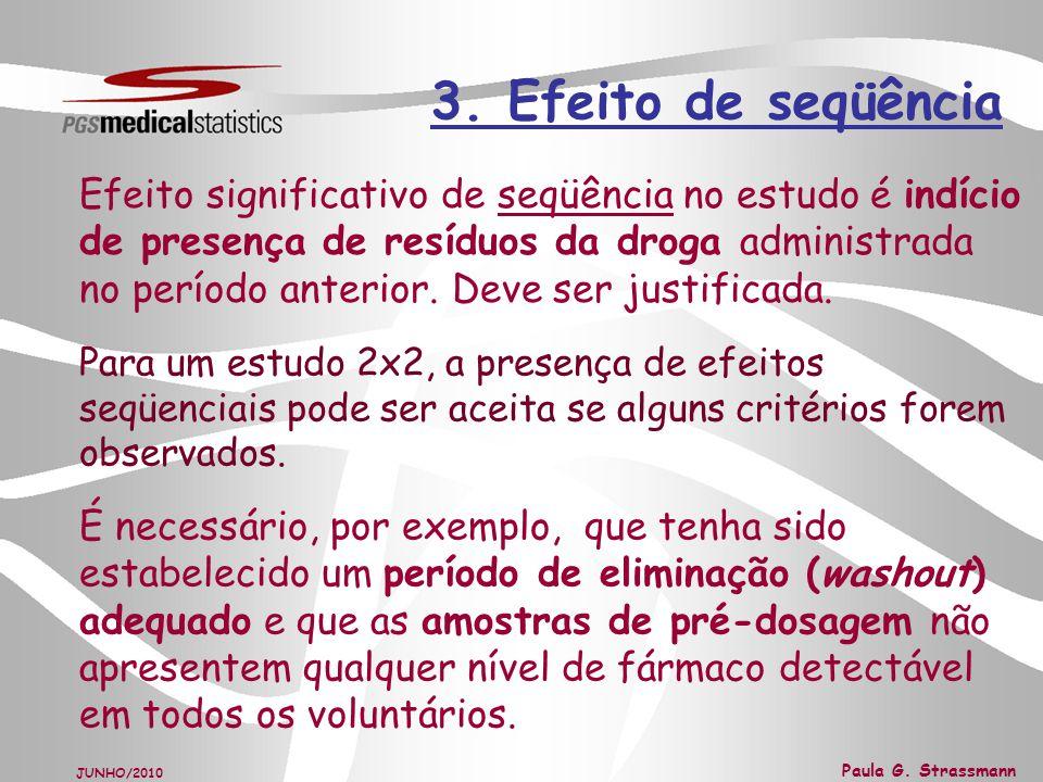 3. Efeito de seqüência