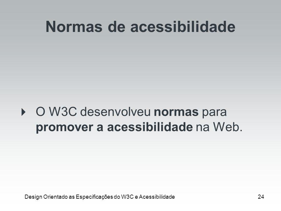 Normas de acessibilidade