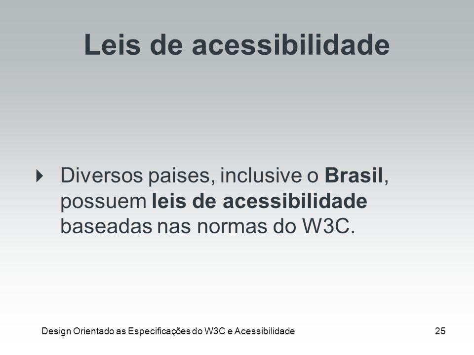 Leis de acessibilidade