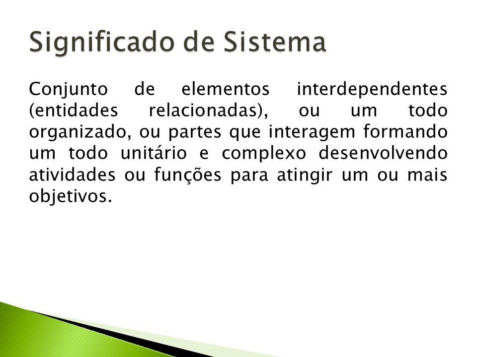 Significado de Sistema