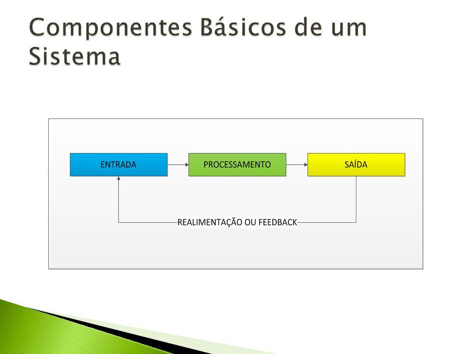 Componentes Básicos de um Sistema