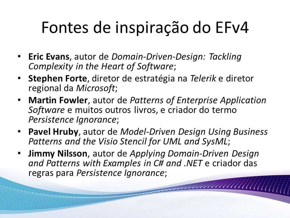 Fontes de inspiração do EFv4