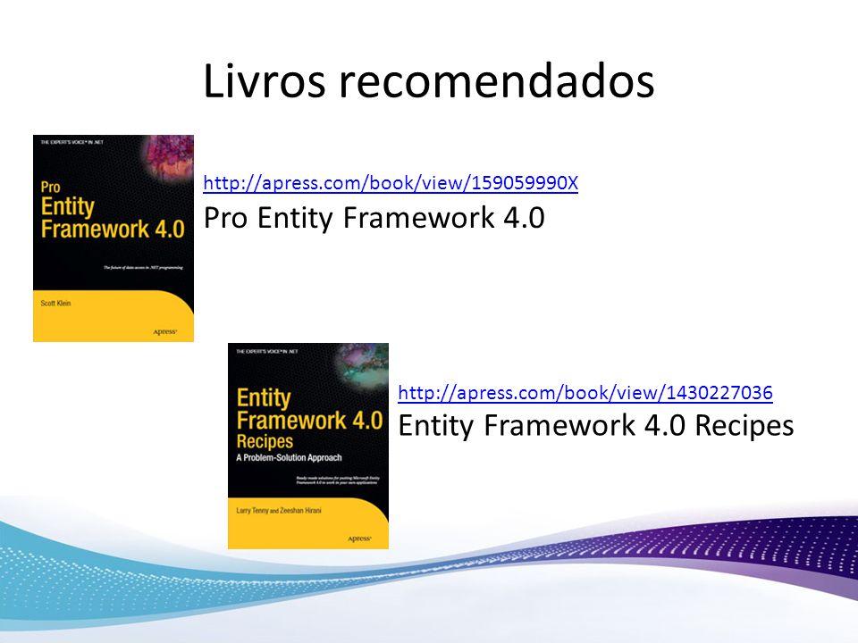 Livros recomendados Pro Entity Framework 4.0