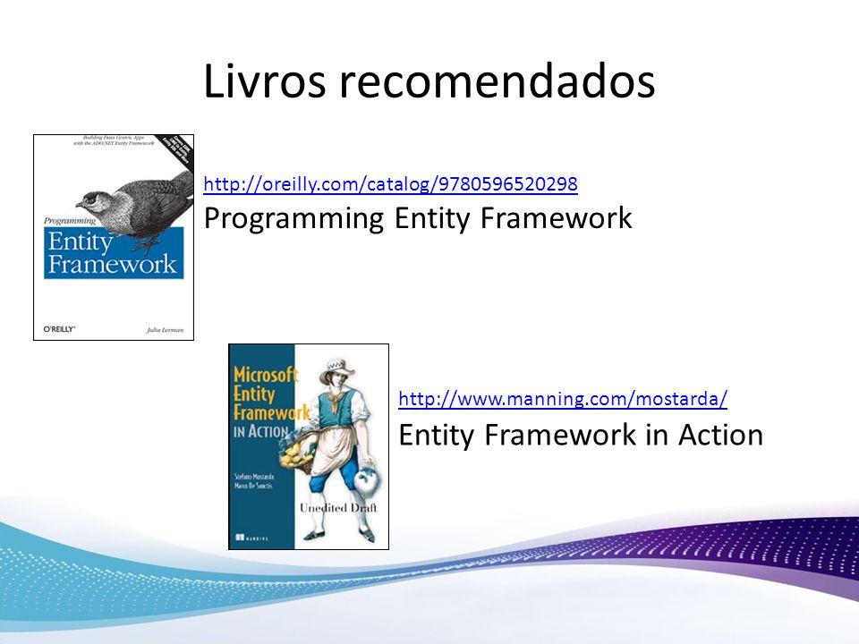 Livros recomendados Programming Entity Framework
