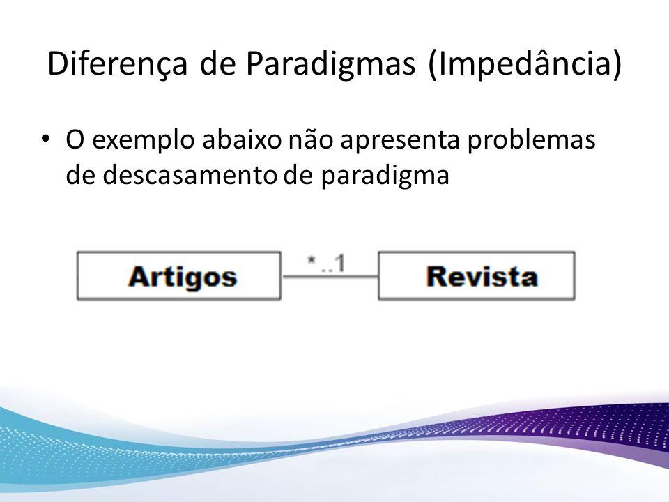 Diferença de Paradigmas (Impedância)