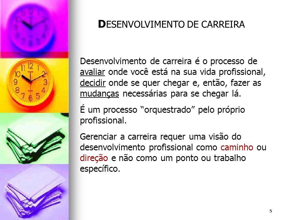 DESENVOLVIMENTO DE CARREIRA