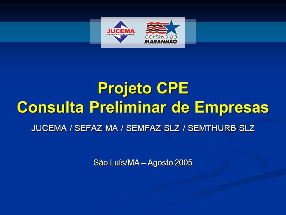 Projeto CPE Consulta Preliminar de Empresas
