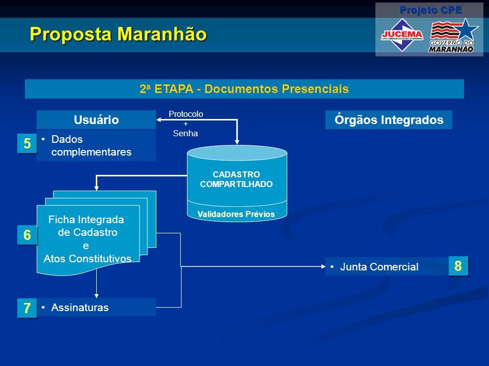 2a ETAPA - Documentos Presenciais
