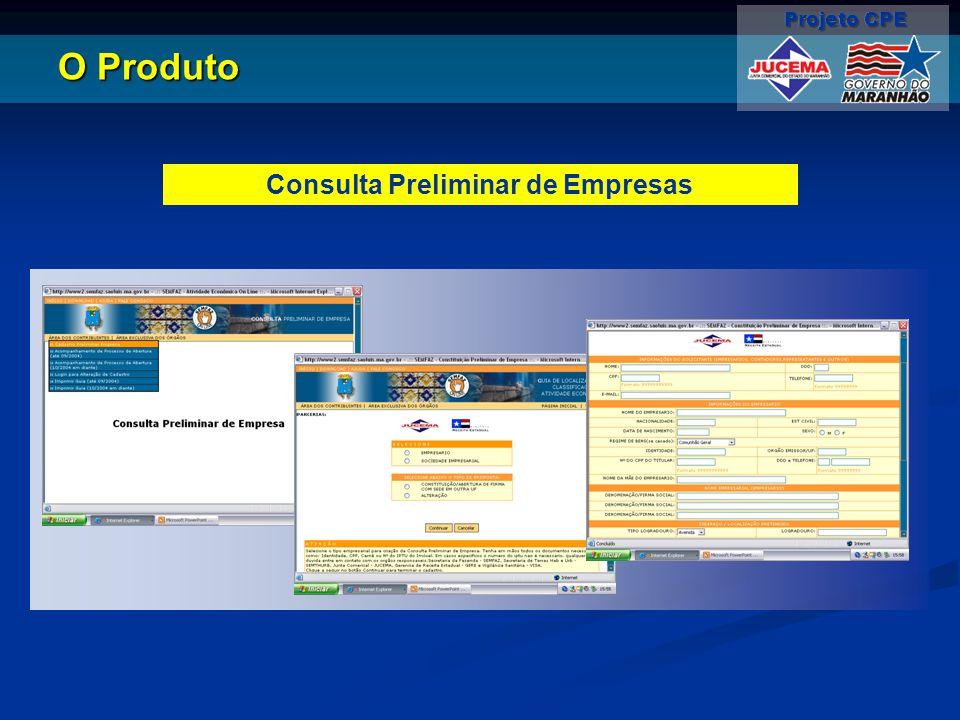 Consulta Preliminar de Empresas