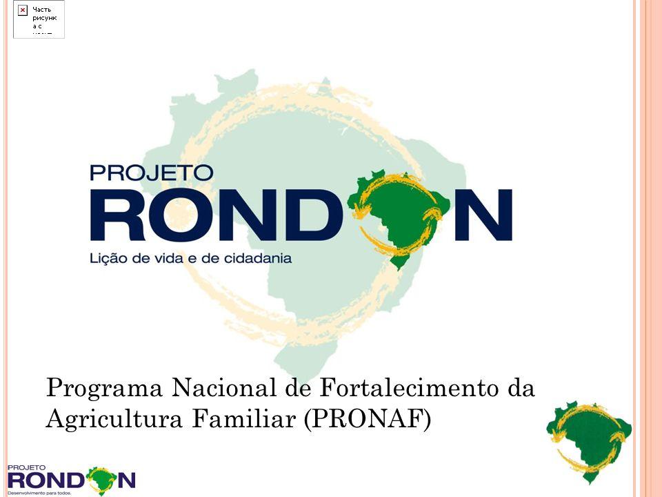 Programa Nacional de Fortalecimento da Agricultura Familiar (PRONAF)