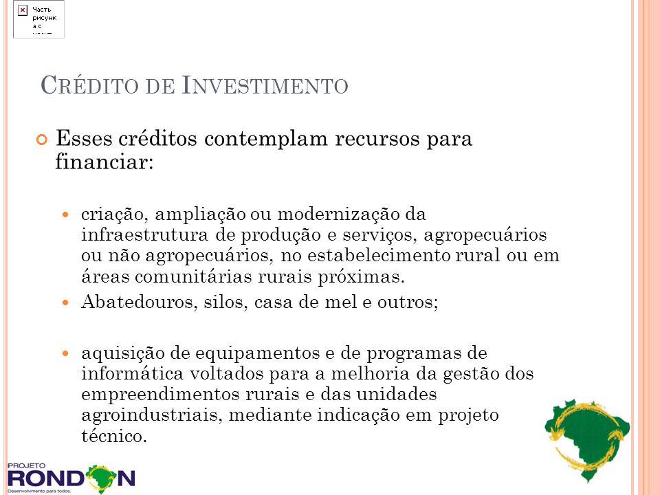 Crédito de Investimento