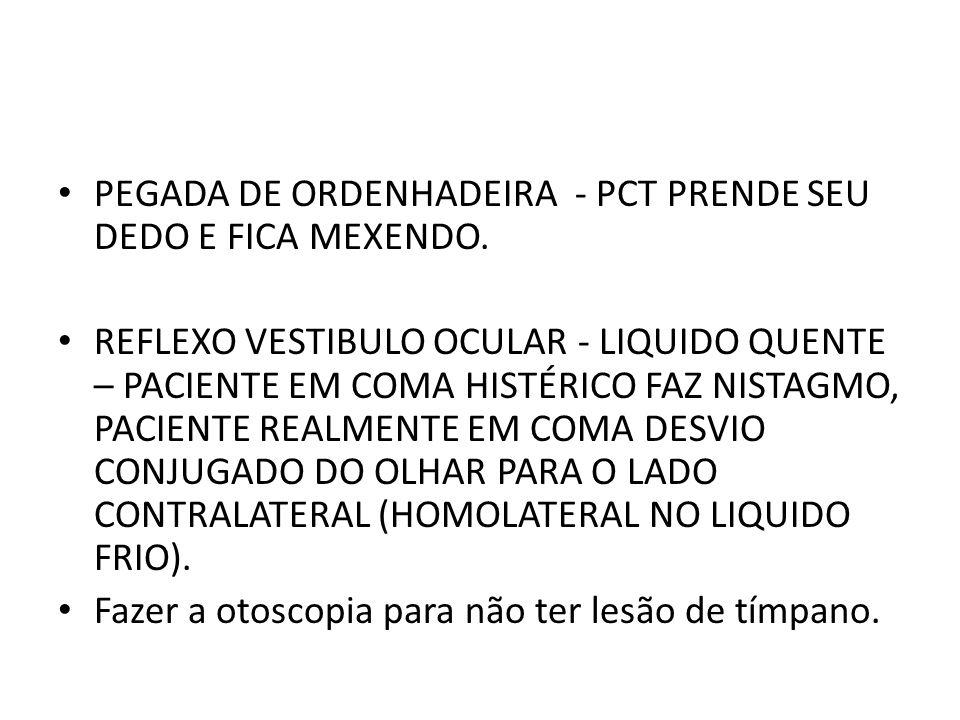 PEGADA DE ORDENHADEIRA - PCT PRENDE SEU DEDO E FICA MEXENDO.