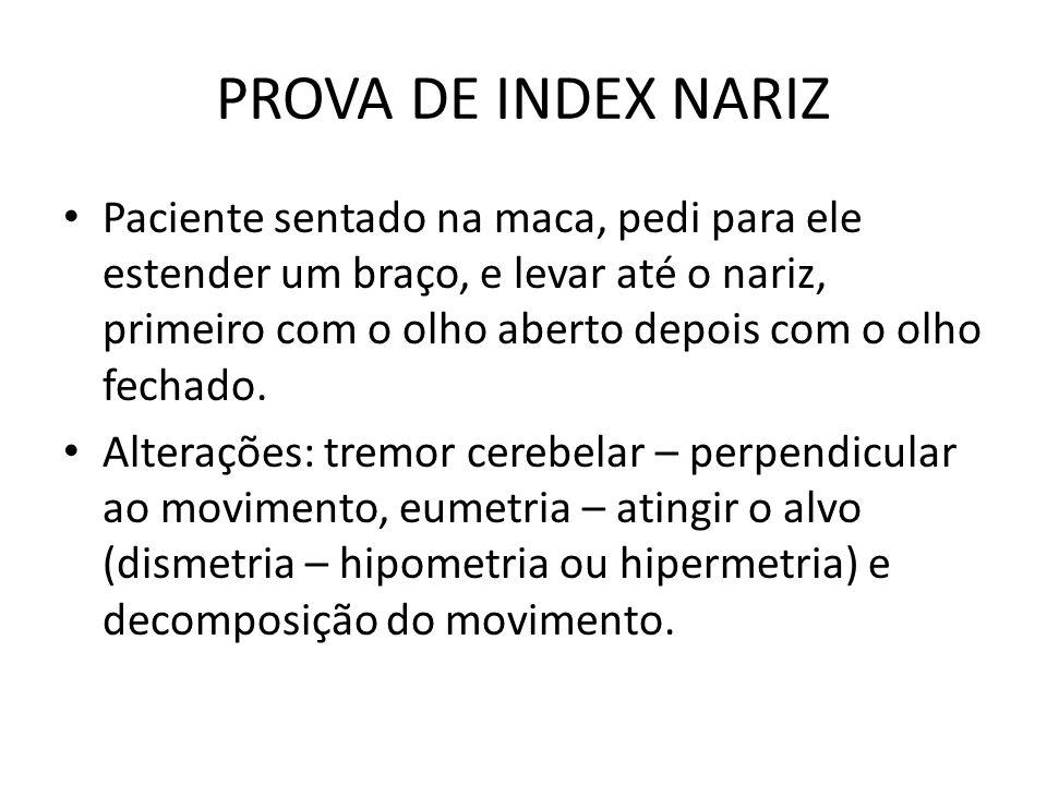 PROVA DE INDEX NARIZ