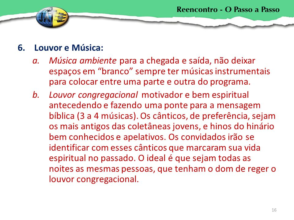 Louvor e Música: