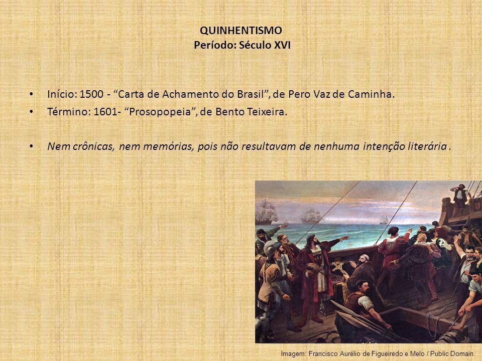 QUINHENTISMO Período: Século XVI