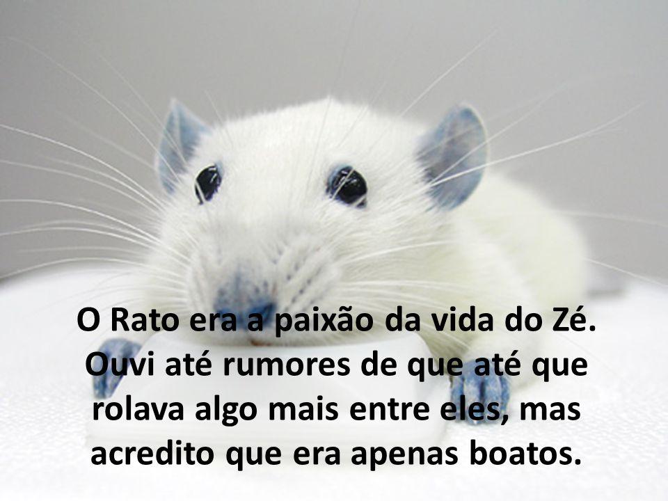 O Rato era a paixão da vida do Zé