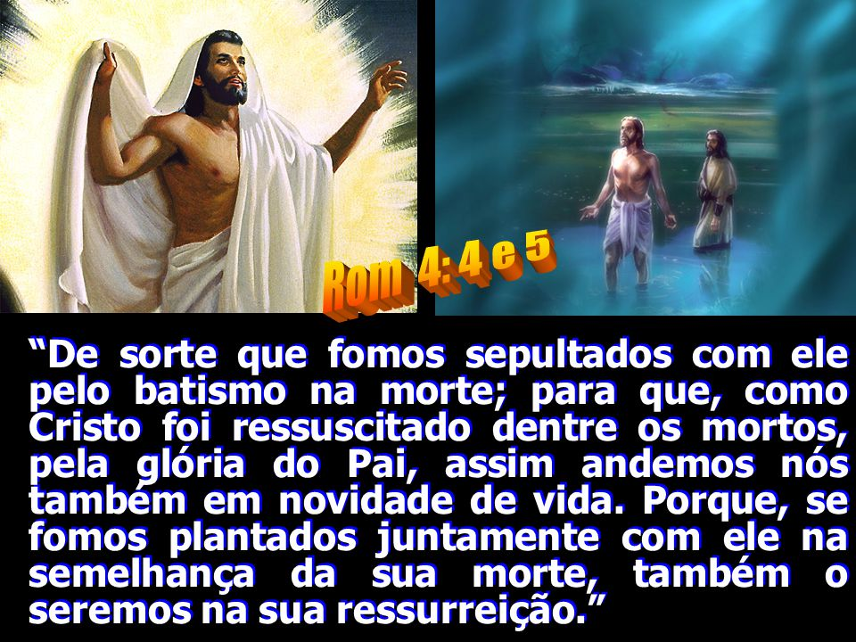 Rom 4: 4 e 5