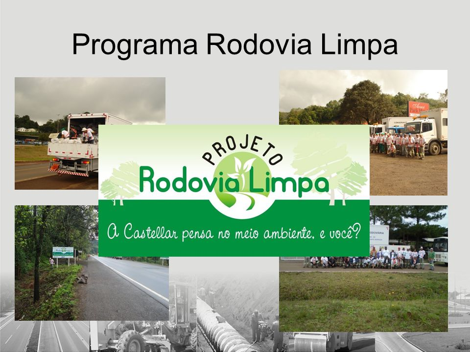 Programa Rodovia Limpa