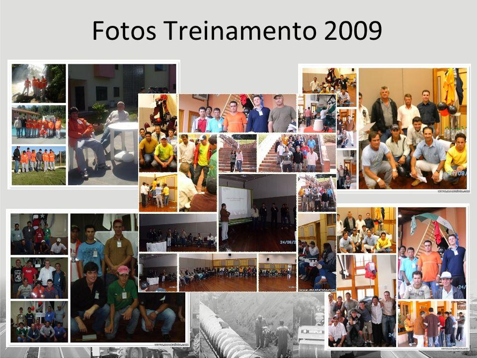 Fotos Treinamento 2009