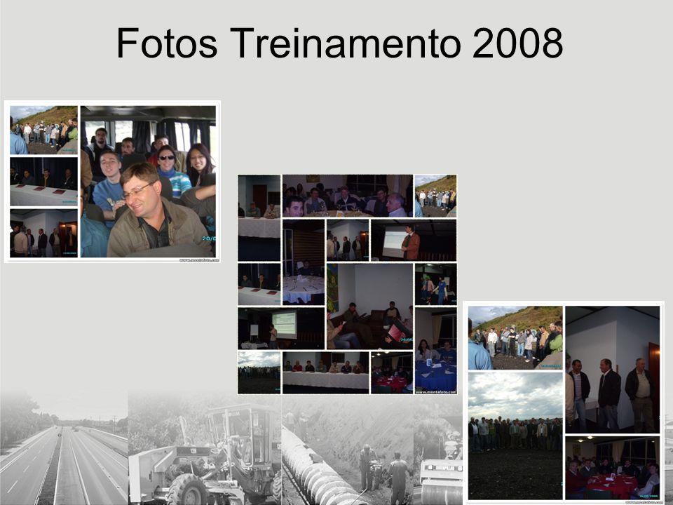 Fotos Treinamento 2008