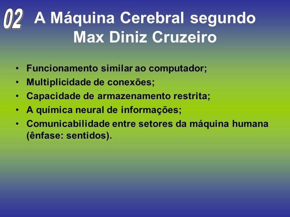 A Máquina Cerebral segundo Max Diniz Cruzeiro