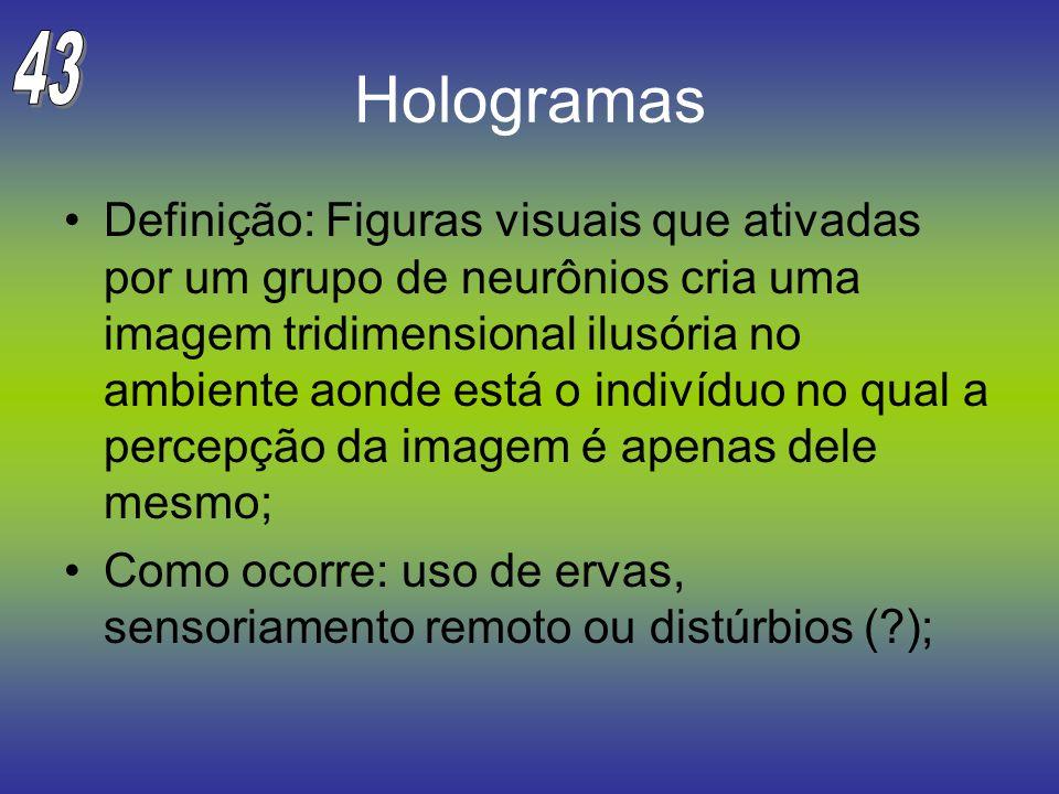 43 Hologramas.