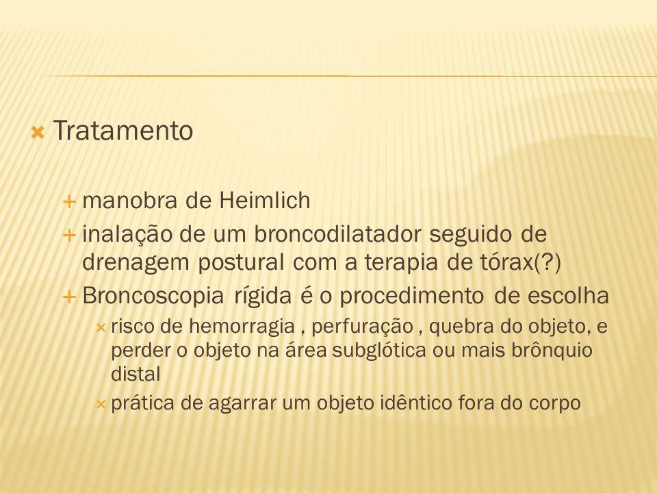 Tratamento manobra de Heimlich