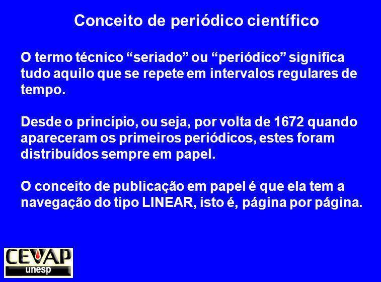 Conceito de periódico científico