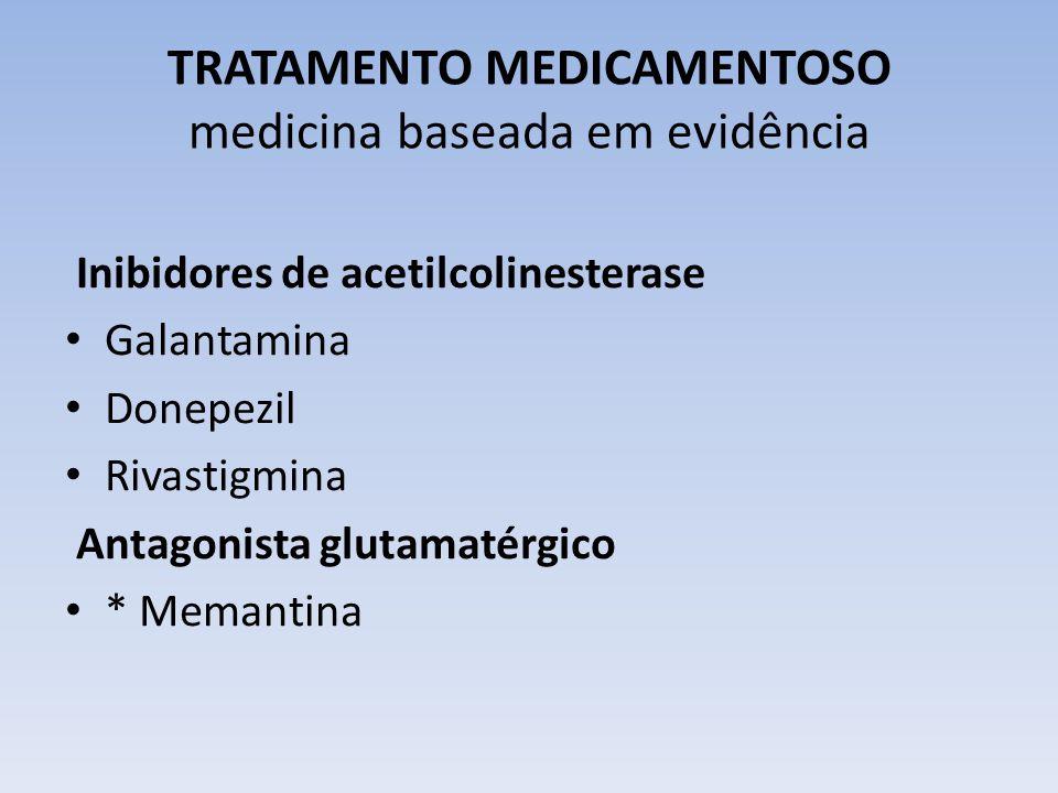 TRATAMENTO MEDICAMENTOSO medicina baseada em evidência