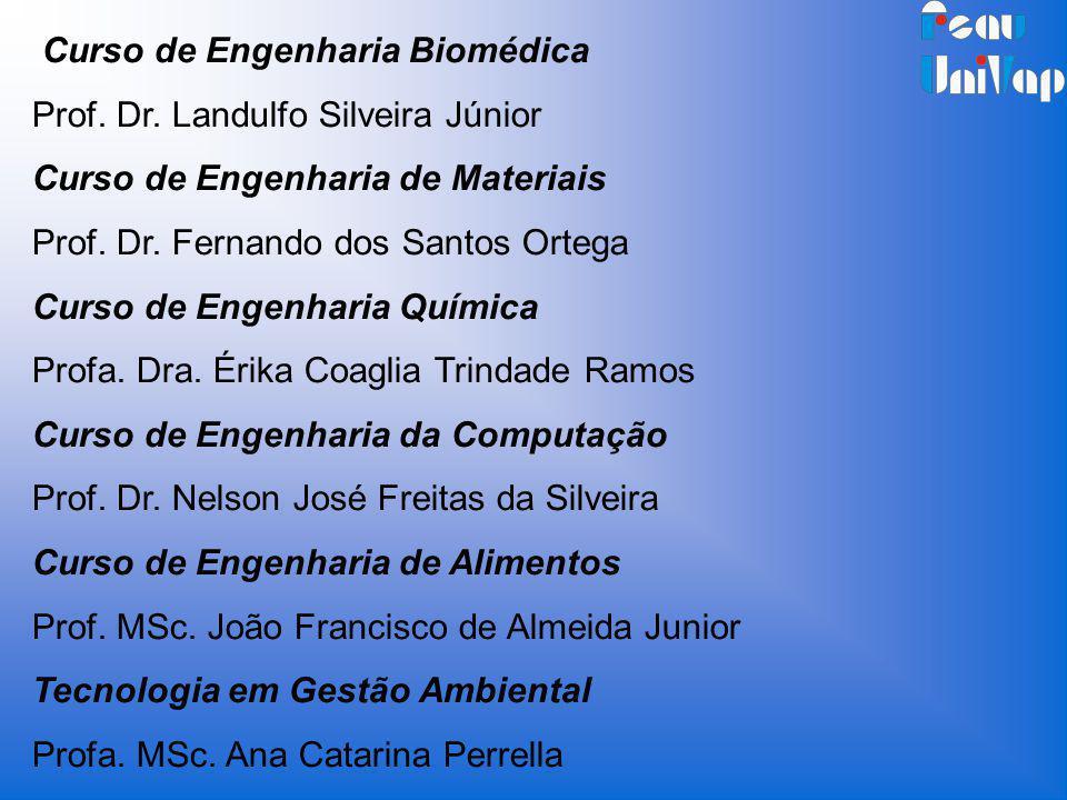 Curso de Engenharia Biomédica