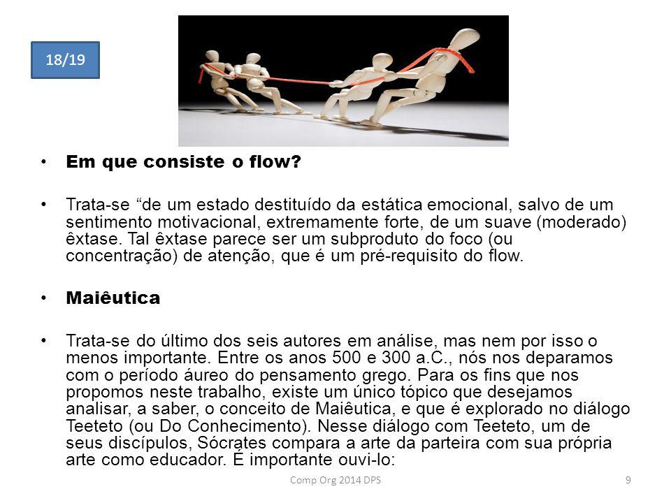 18/19 Em que consiste o flow