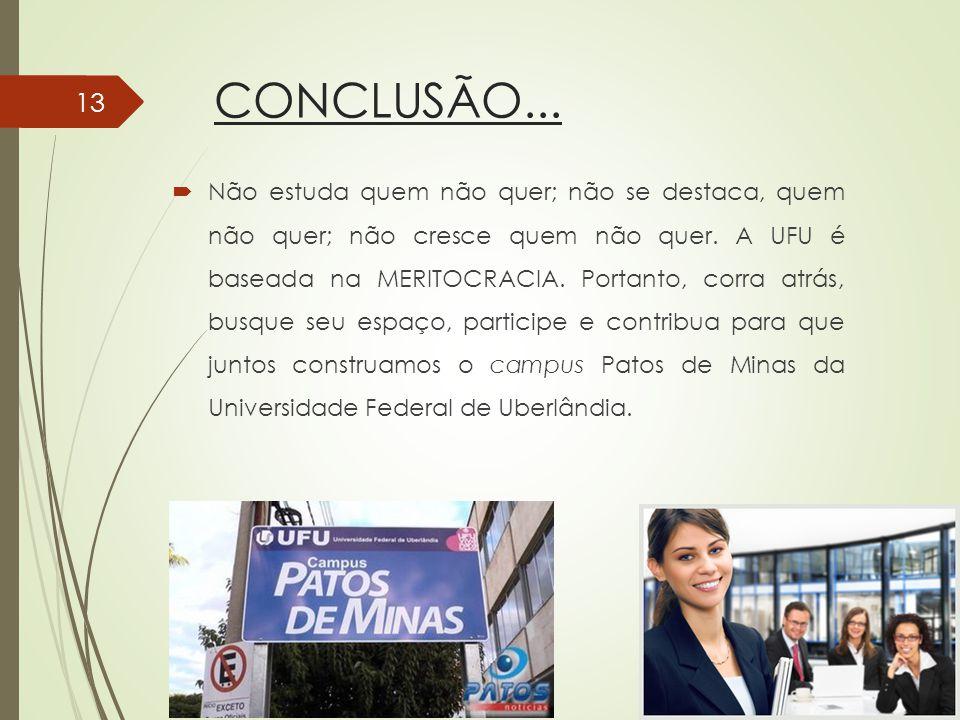CONCLUSÃO...