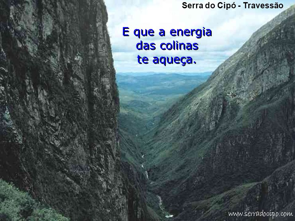 Serra do Cipó - Travessão