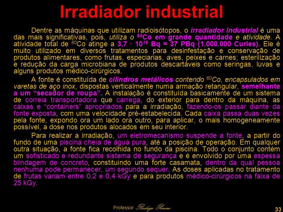 Irradiador industrial