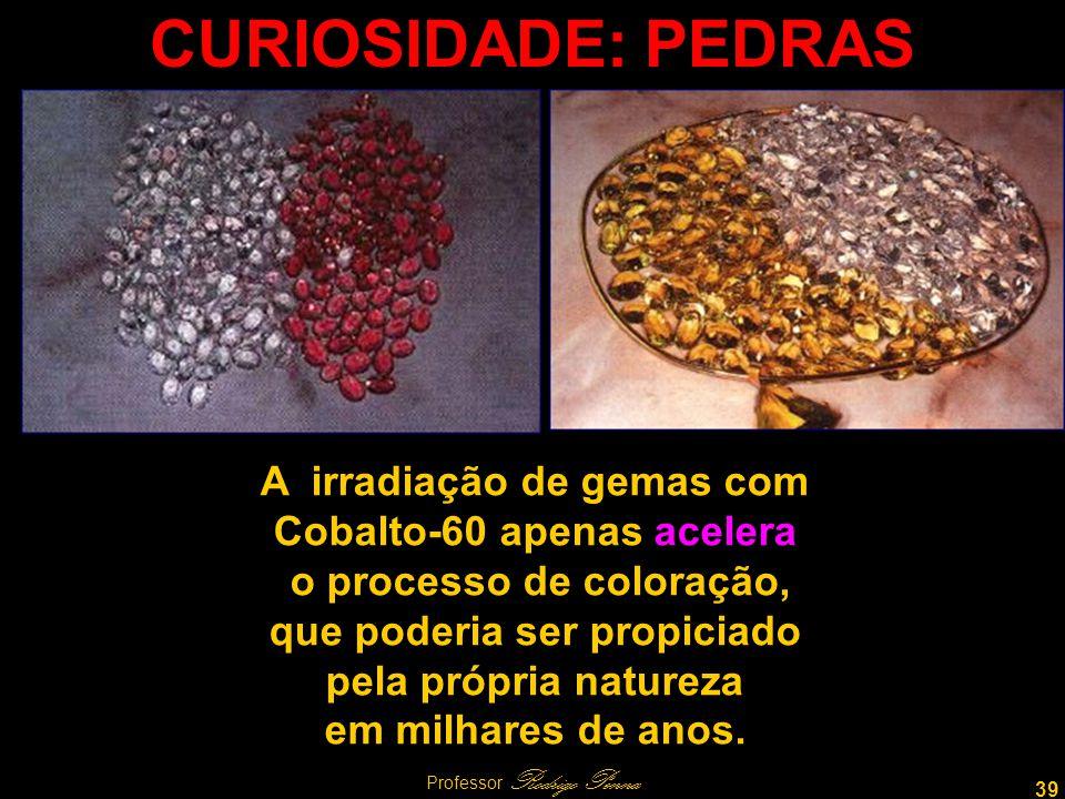 CURIOSIDADE: PEDRAS A irradiação de gemas com