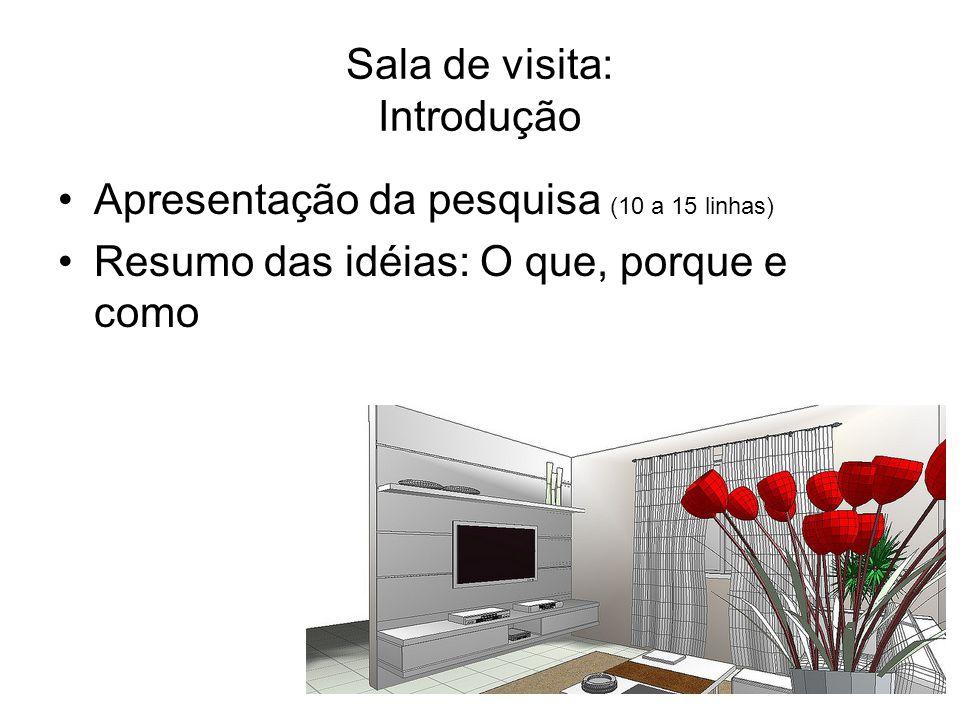 Sala de visita: Introdução