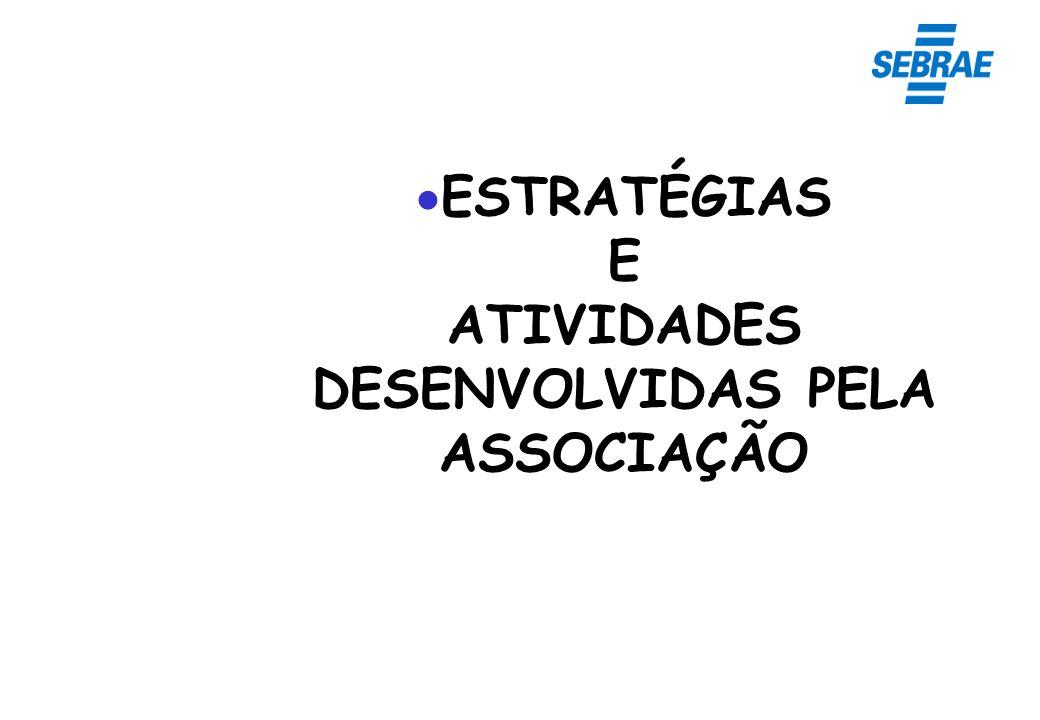 ESTRATÉGIAS E ATIVIDADES DESENVOLVIDAS PELA ASSOCIAÇÃO