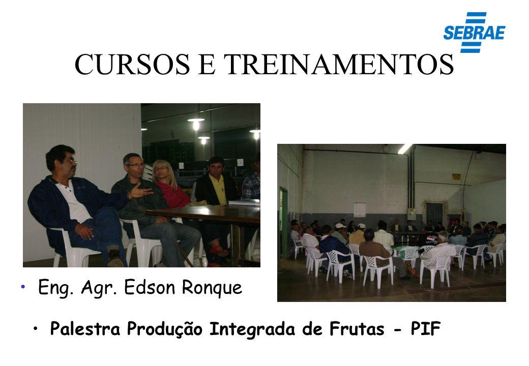 CURSOS E TREINAMENTOS Eng. Agr. Edson Ronque
