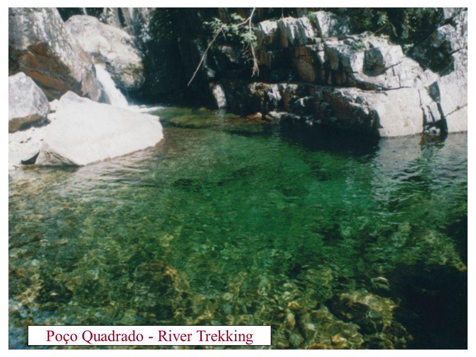Poço Quadrado - River Trekking