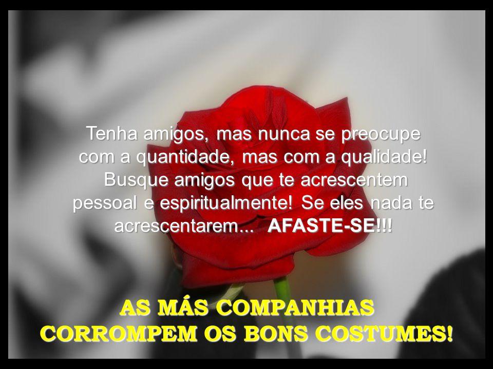 CORROMPEM OS BONS COSTUMES!