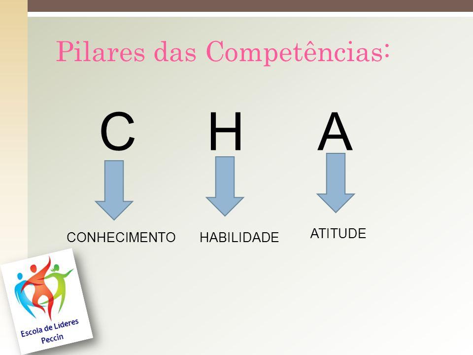 Pilares das Competências: